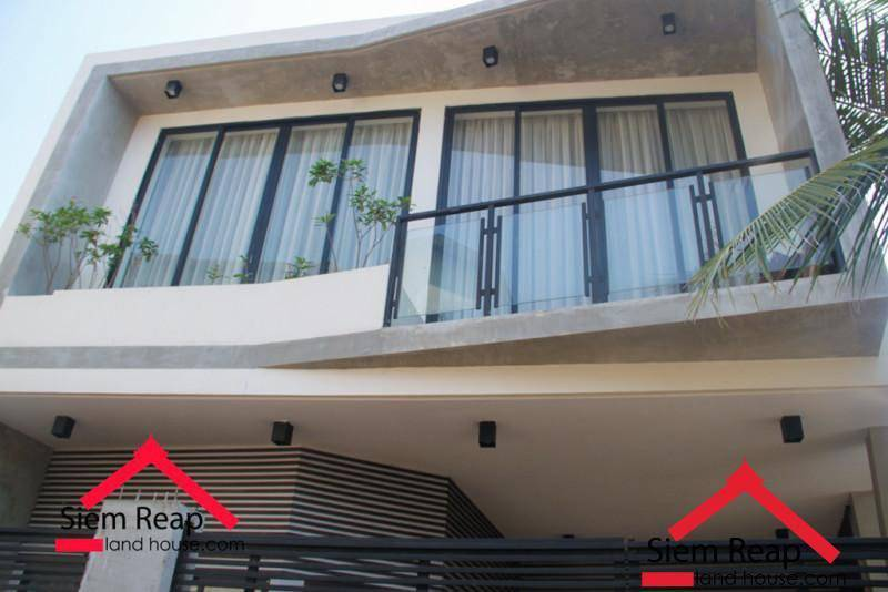 2 Bedrooms apartment modern style for rent in siem Reap ID AP-228 $550 per month.