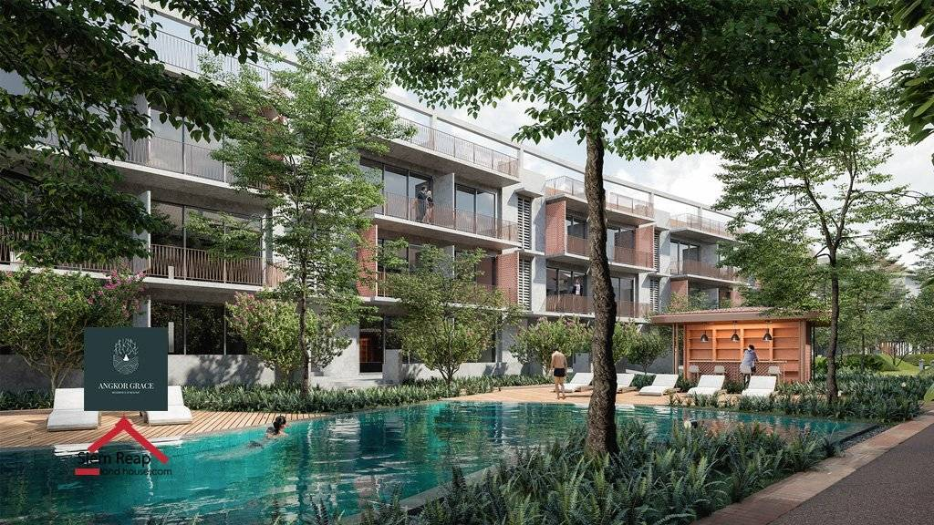 100% foreigner ownership condo with hard title in Siem Reap, Cambodia