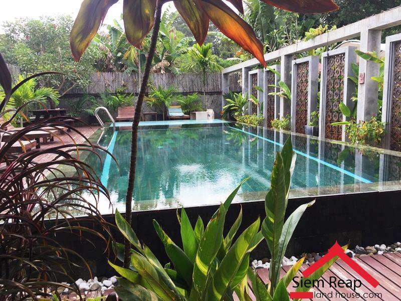 2 Bedrooms Apartment With Pool In Siem Reap Near To River $600 Per Month ID AP-183