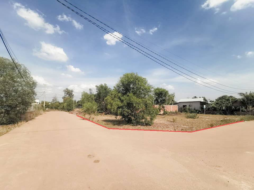 Lovely Land On The Corner For Sale ID: LFS-261 $ 230/m2