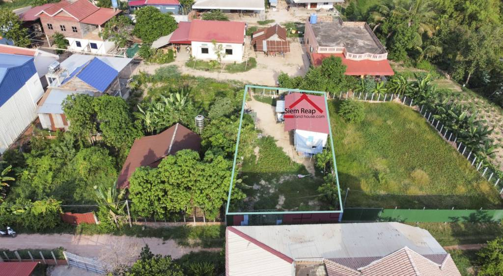 Land for Sale in Chreav, Siem Reap  $55,000 (negotiate)