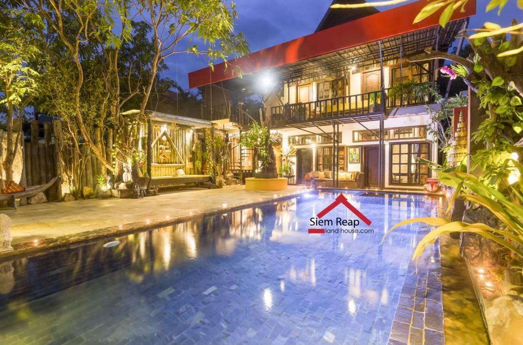 出租 别墅 Siem Reap Sla Kram