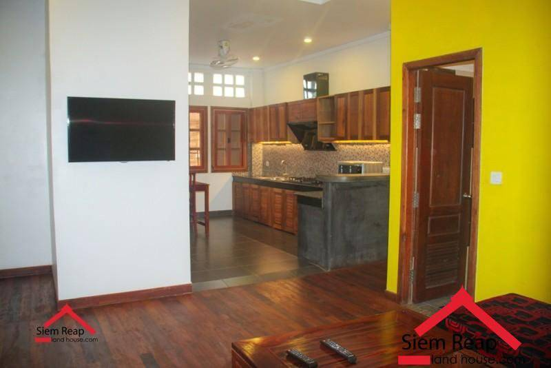 1 bedrooms apartment locate at road 30m Phsa Kralanh for rent ID: A-247 $400 per month
