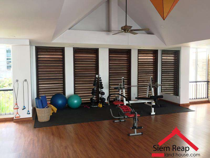 1 Bedroom Apartment with pool gym in Siem Reap $450 per month ID A-102