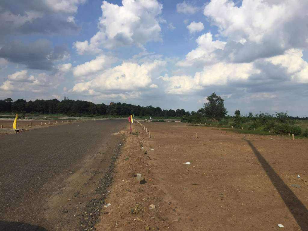Land for sell Krong Poipet Khmer Thai border