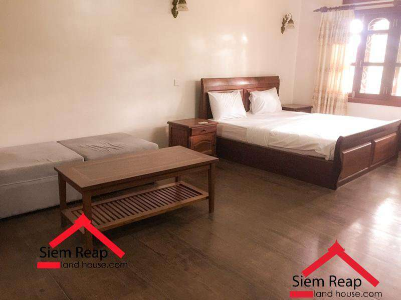 1 Bedroom Apartment on Wat Bo St For Rent In Siem Reap ID: A-197 $400/m