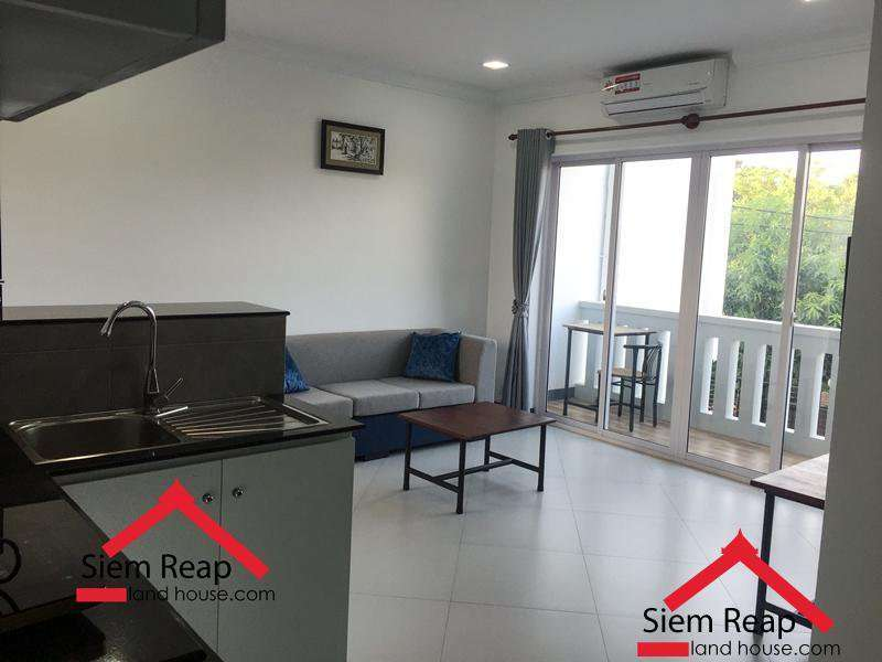Modern and conveniences unit 2 bedrooms for rent in siem reap ID: AP-188 $450