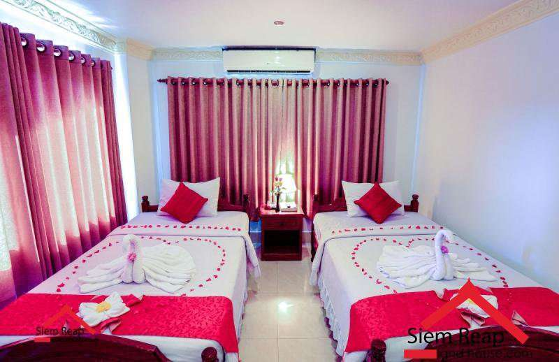 38 bedrooms hotel in road 6A in siem reap for rent ID: HR-140 $6500 per month