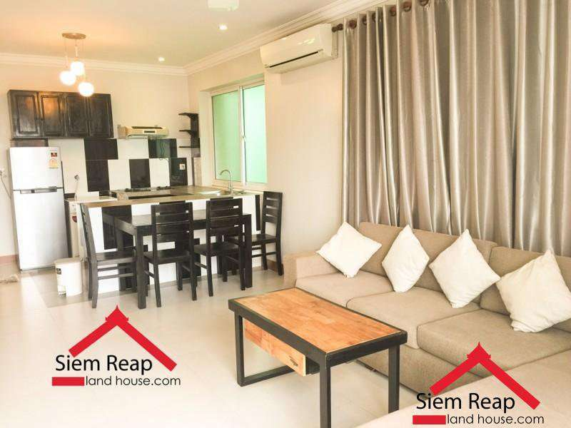 2 bedrooms apartment on Taphul street for rent in siem reap, Cambodia ID: AP-205 $600