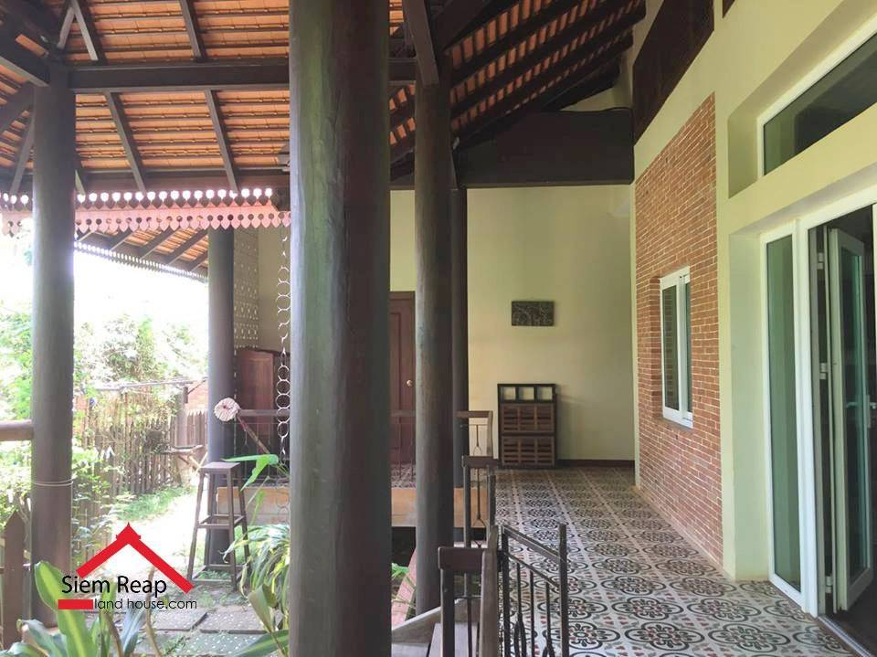 4 Bedrooms villa with pool for rent ID: HFR-261 $1200/m