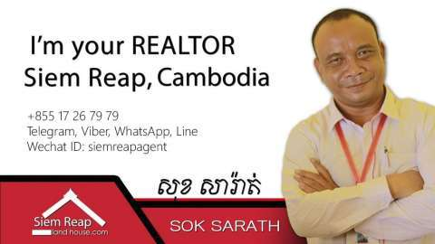 Sale Commercial land Svay Chek