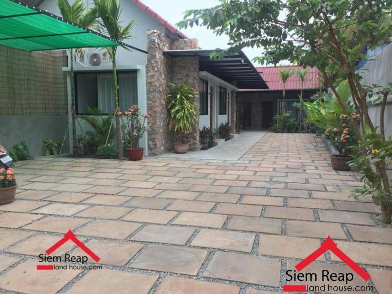 Newly Studio apartment for rent at 7 Makara road  siem reap ID: A-221 $300/m