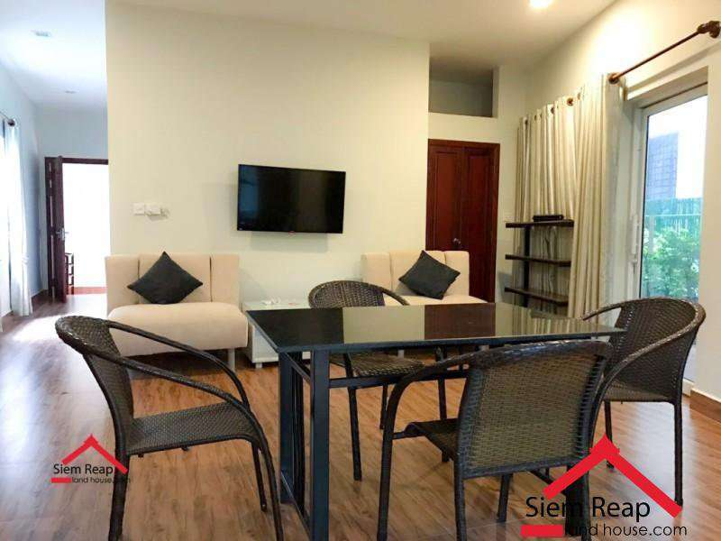 1 bedroom apartment full furnish for rent in Siem Reap ID: A-191 $350/m