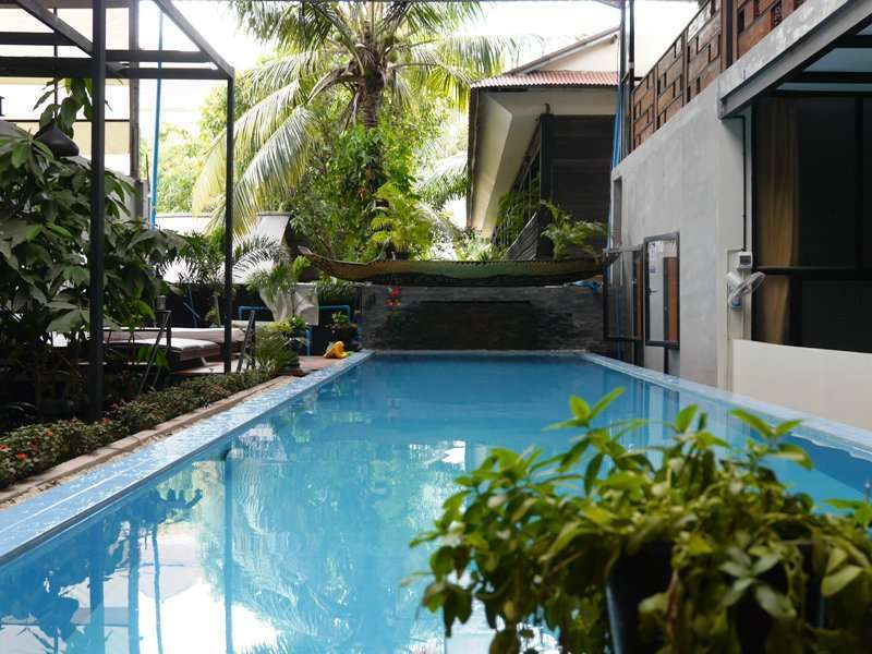 2 bedroom apartment with swimming pool in siem reap for rent $500/month ID AP-141