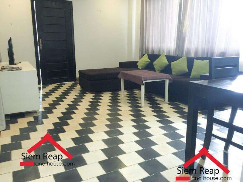 2 bedrooms apartment on Taphul street for rent in siem reap, Cambodia ID: APP-205 $600