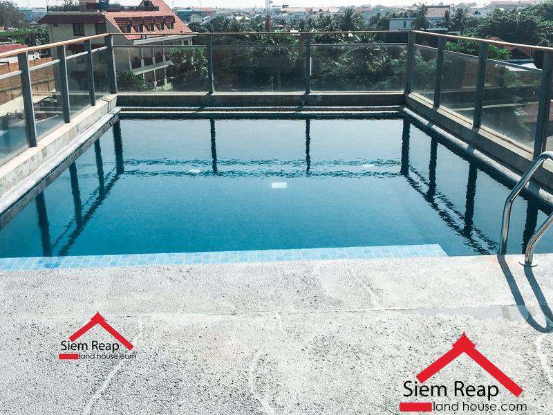Luxury 1 bedroom apartment with Pool for rent in Siem Reap ID: A-187 $1000/m