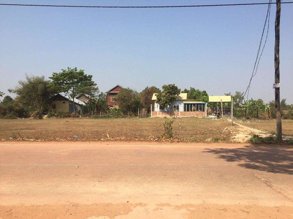Land on concrete road for sale $250/sqm ID: LFS-247