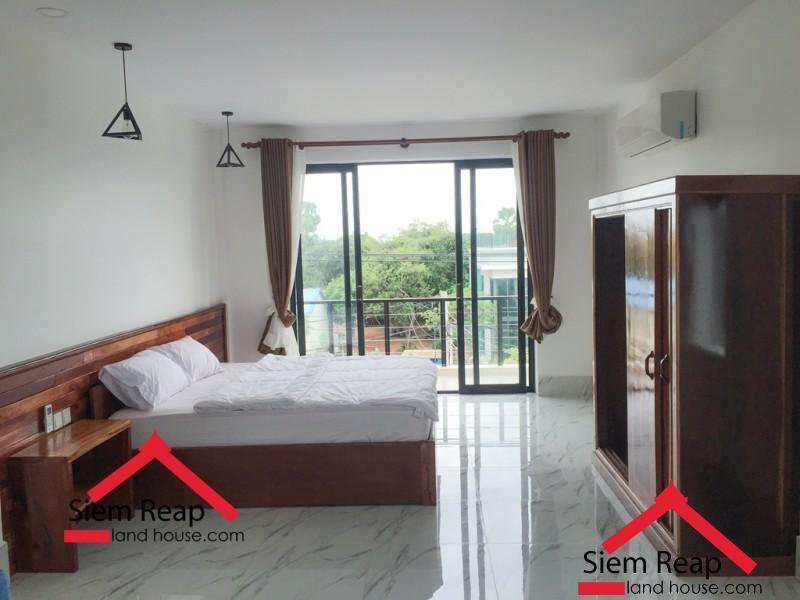 Newly 1 bedroom apartment for rent in siem reap, Cambodia ID: AP-204 $400