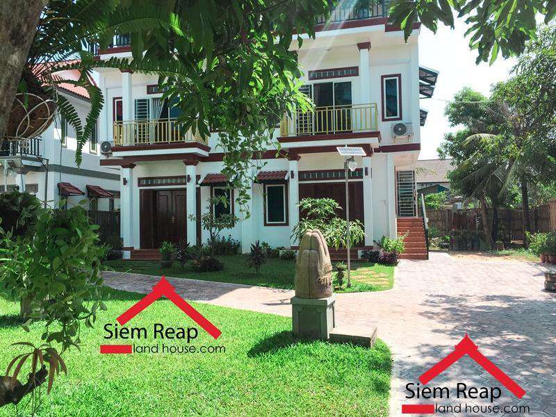 Consisting 1 bedroom apartment for rent in siem reap ID: AP-192 $300 per month