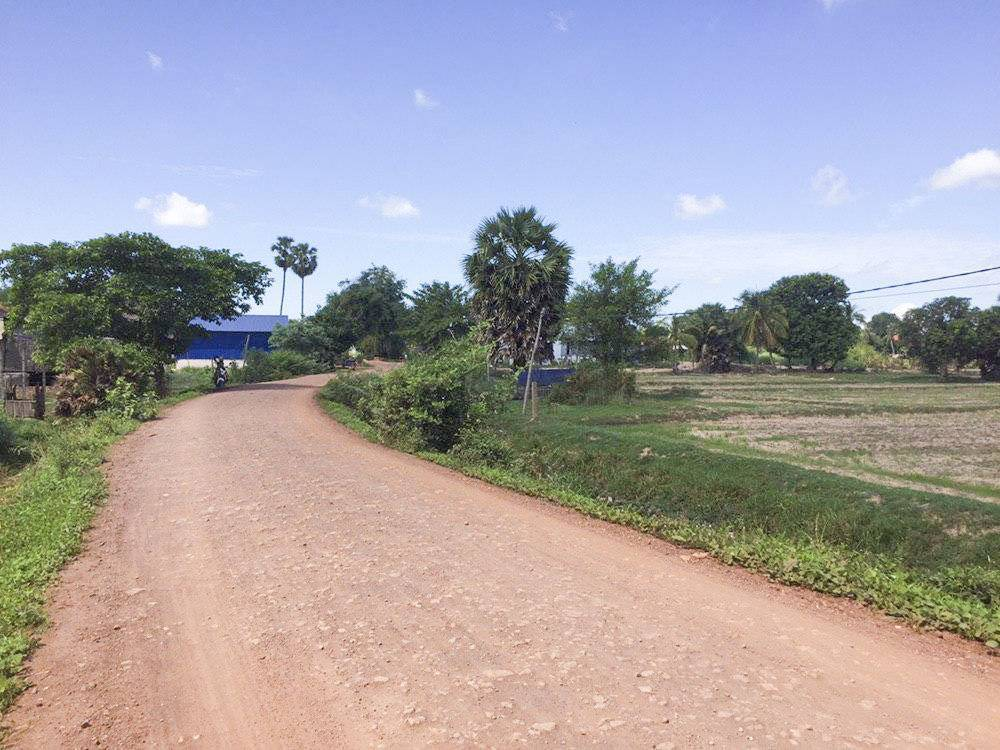 Good land shape two roads access for sale ID code: LFS-264