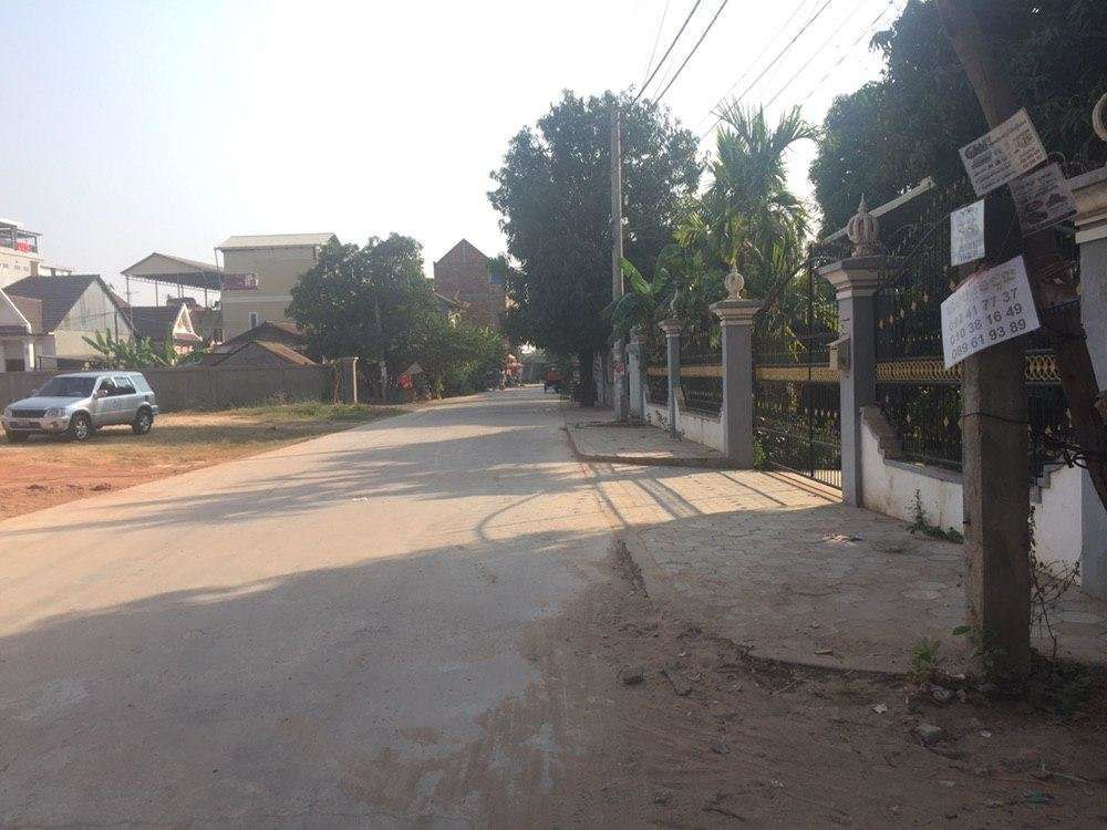 Land in Siem Reap City center for sale $ 600 / m2 ID code: LFS-250