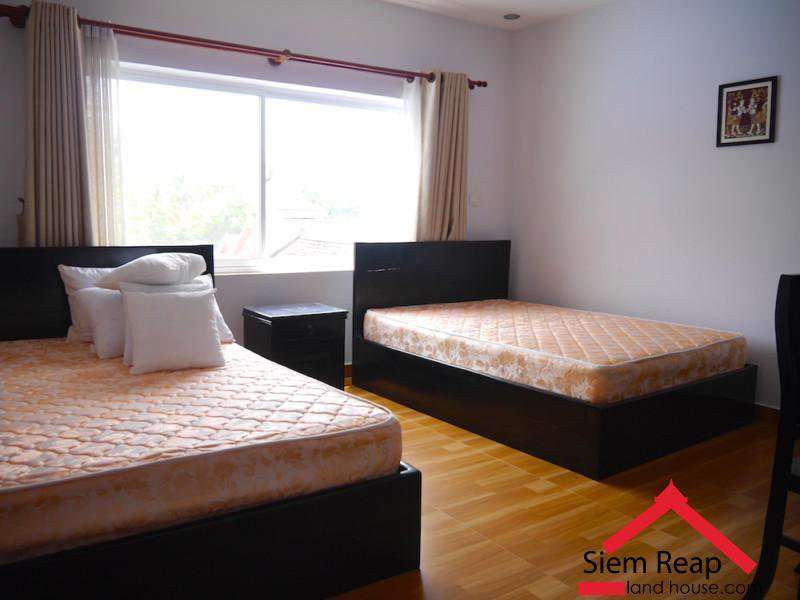 1 bedroom apartment for rent in Siem Reap $400/month, ID A-119