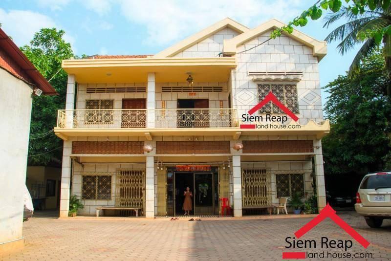出租 商业 Siem Reap Sala Kamraeuk