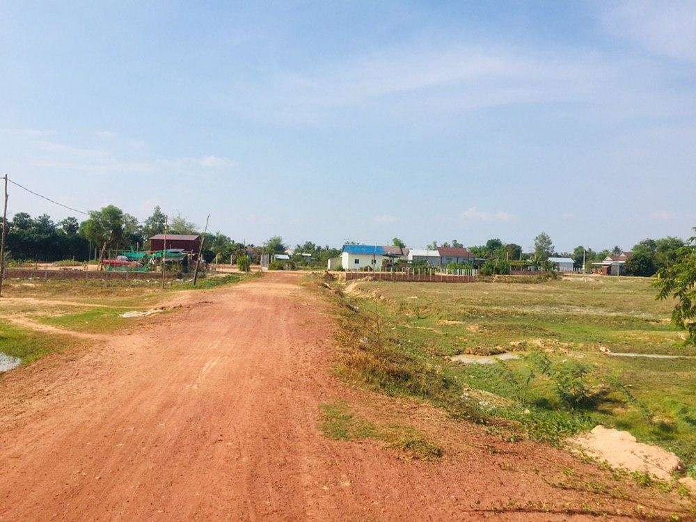 Land 1500sqm for sale $50/sqm location at Kan Trok village Sangkat Svaydangkum Siem Reap city