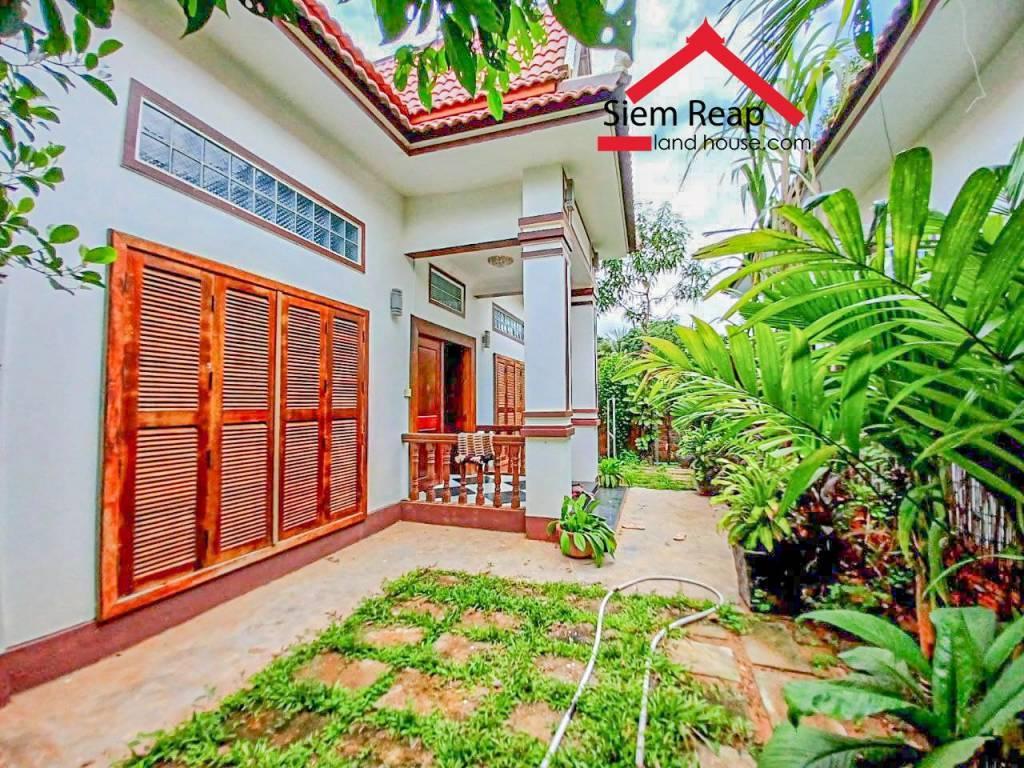 Compound house for rent at Sangkat Sala Kamreuk 300USD/month