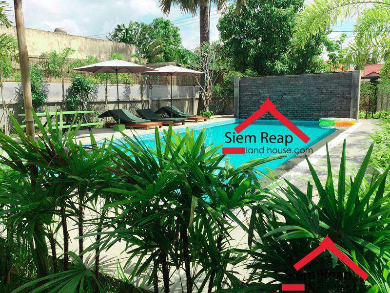 Newly modern 2 bedrooms apartment for rent in Siem Reap ID: AP-184 $700/m