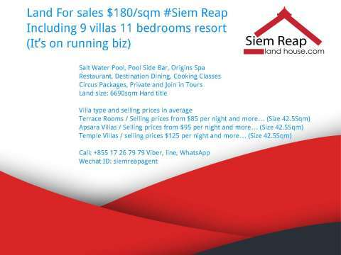 Sale Commercial land Siem Reap