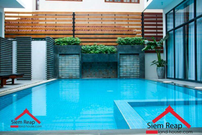 Newly 2 bedrooms apartment modern style with swimming pool for rent ID: AP-210 $1500/month