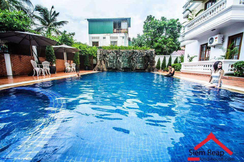 2 Bedrooms apartment with Pool Gym for rent in Siem Reap ID: AP-201 $1200 per month