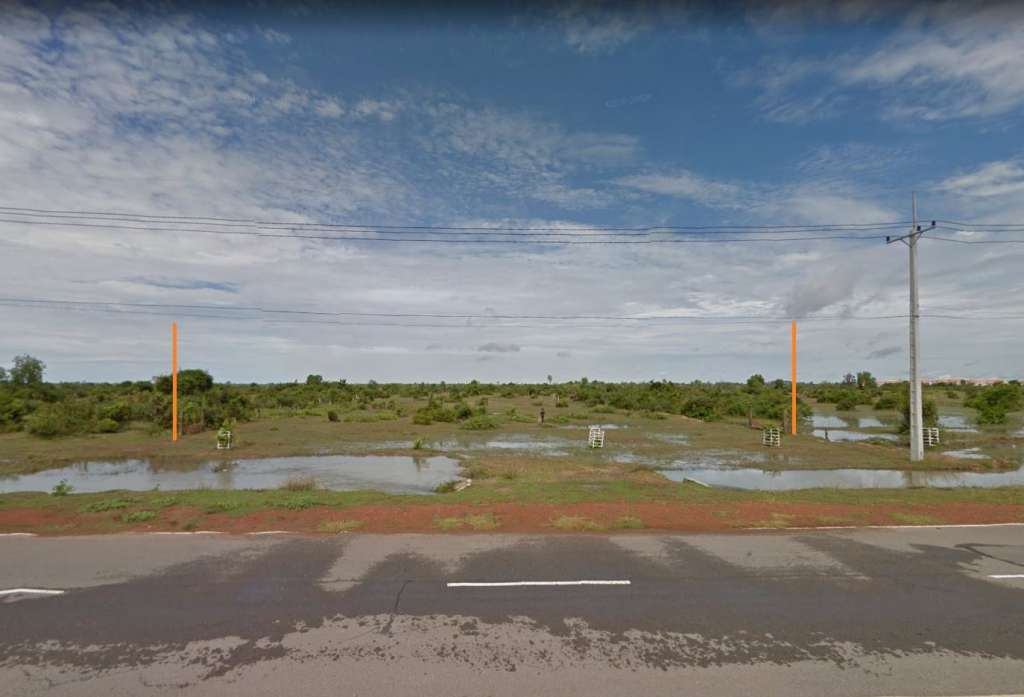 Land for sales at Roluos Commune Prasat Bakong District