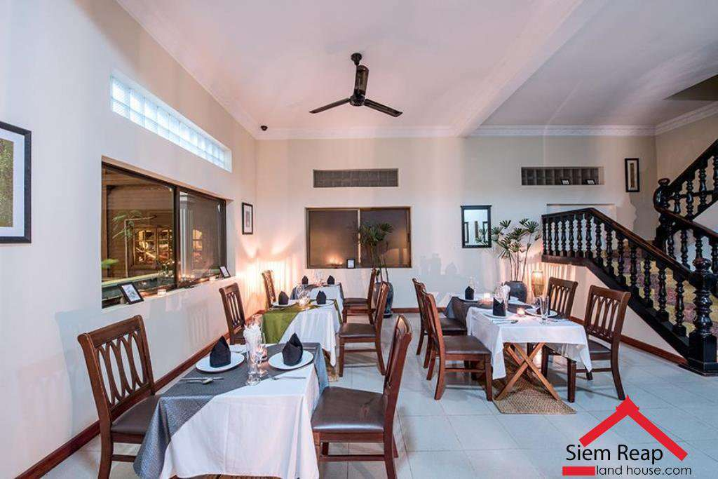 26 bedrooms hotel in siem reap for rent