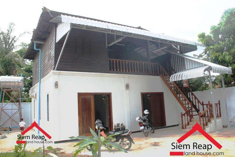 4 bedrooms khmer House for rent ID: HFR-265 $800/month