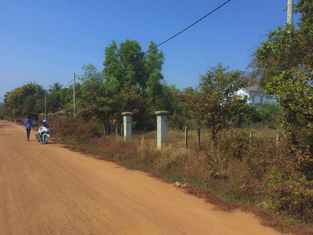 Land for sale location at Chhok Andong villag Sankat Sla Kram Siem Reap