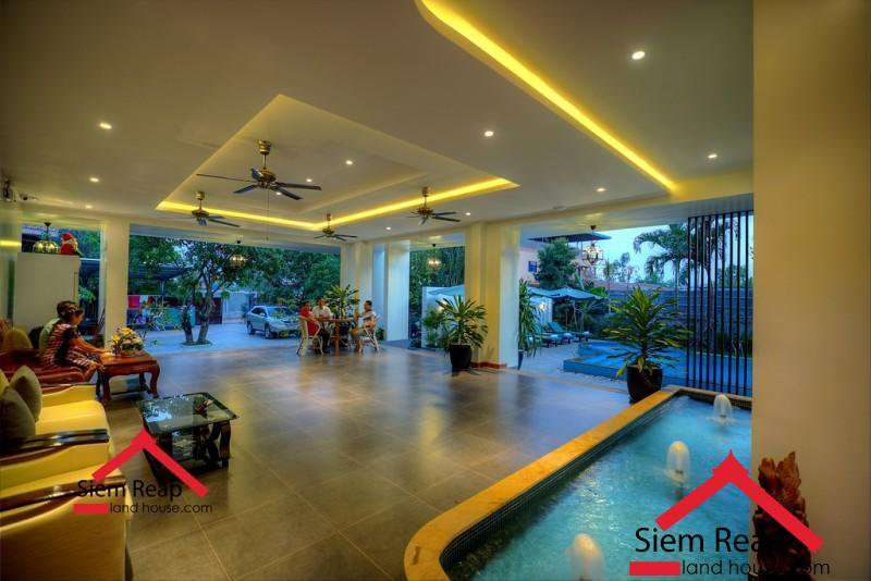 Modern Amenities 2 bedrooms apartment for rent in Siem Reap ID AP-190 $650 per month