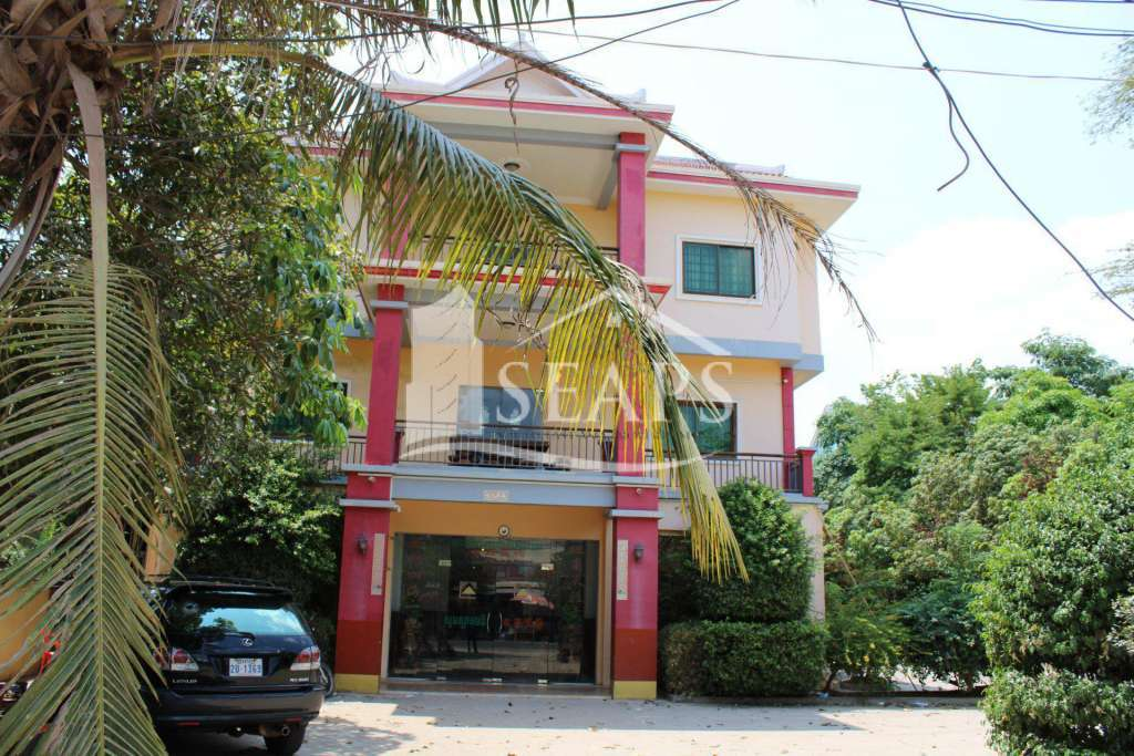 HOTEL FOR SALE - KROUS AREA - SIEM REAP
