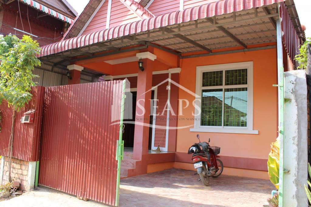 HOUSE FOR RENT - KROUS VILLAGE -  SVAY DUNGKUM - SIEM REAP