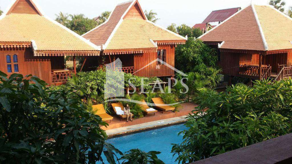 WOODEN STYLE VILLAS - FOR SALE- SVAYTHOM AREA - SIEM REAP