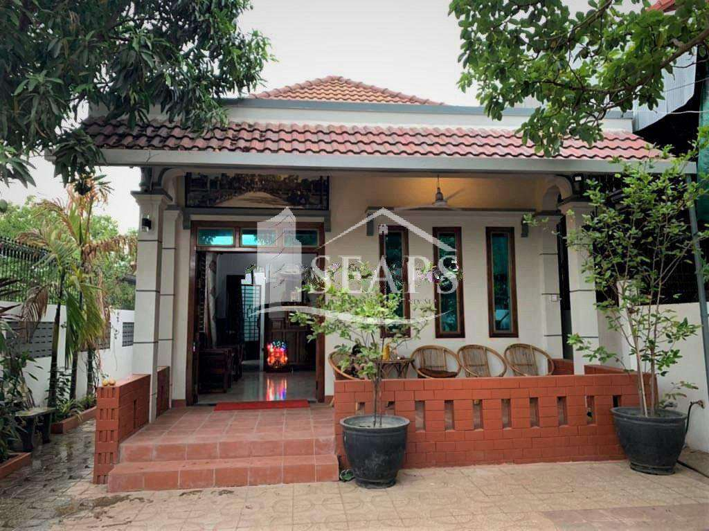 VILLA - FOR RENT -SALA KOMREUK AREA - SIEM REAP