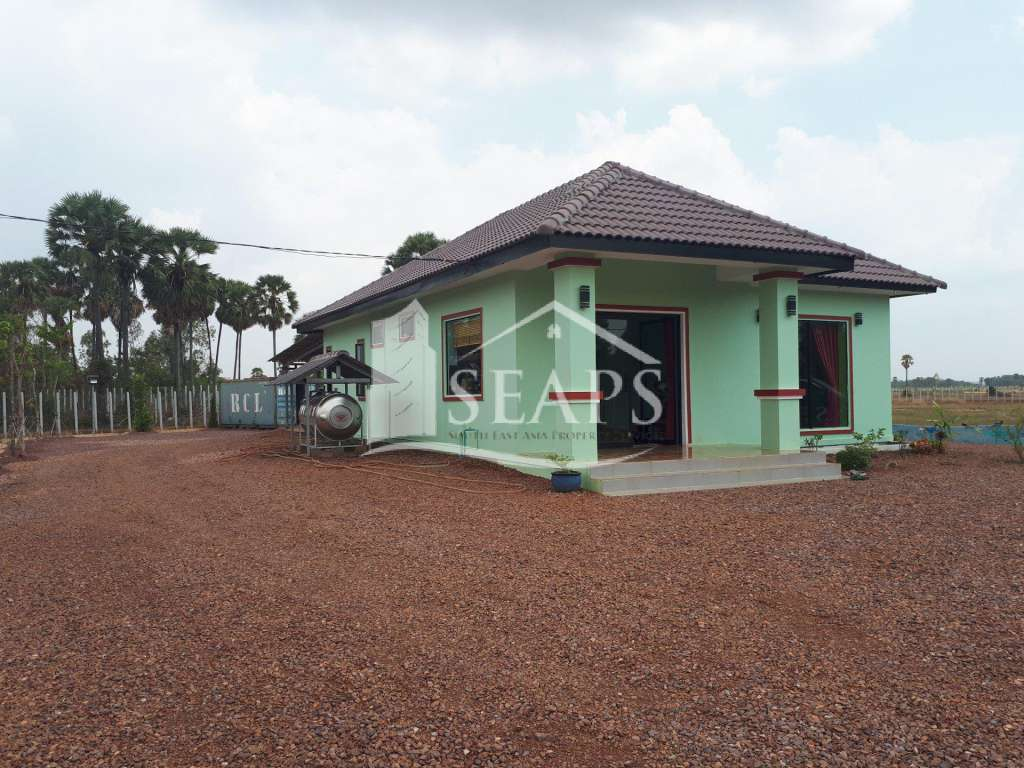 HOUSE AND LAND - QUICK SALE - TUEK VILLAGE - NEAR AIRPORT