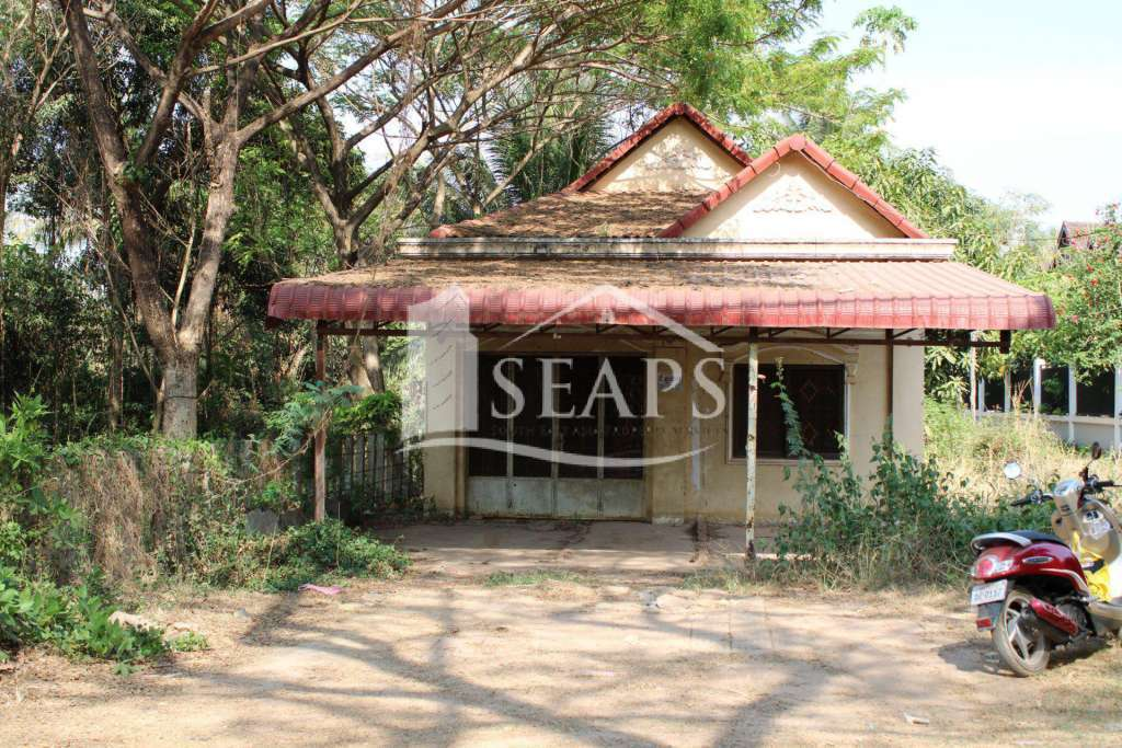 HOUSE AND LAND - FOR SALE - WAT SVAY AREA