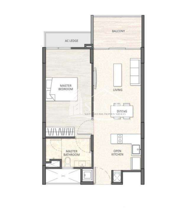1 BED CONDO - FOR SALE - SEN SOK