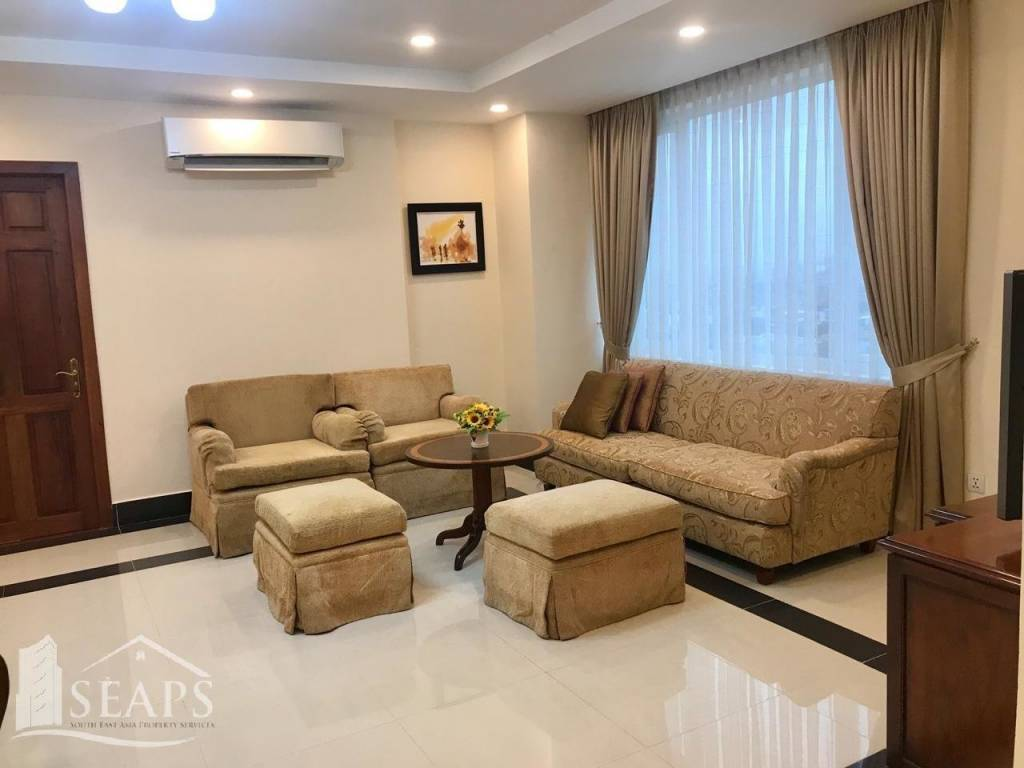 3 BEDROOMS SERVICE APARTMENT FOR RENT IN BKK1