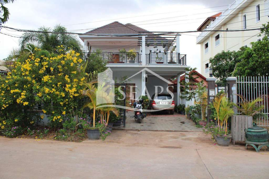 VILLA FOR SALE - SVAY DUNGKUM - SIEM REAP CI
