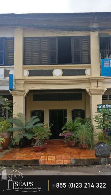 Townhouse for sale in the center of Kampot!