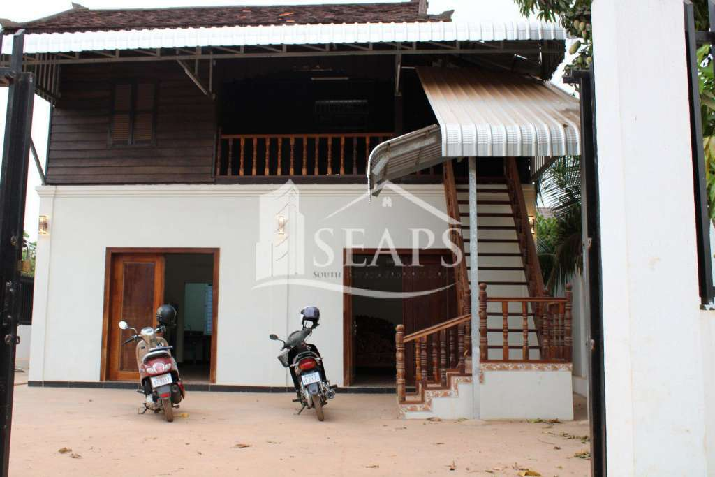 HOUSE FOR RENT -KROUS VILLAGE - SVAY DUONGKOM - SIEM REAP