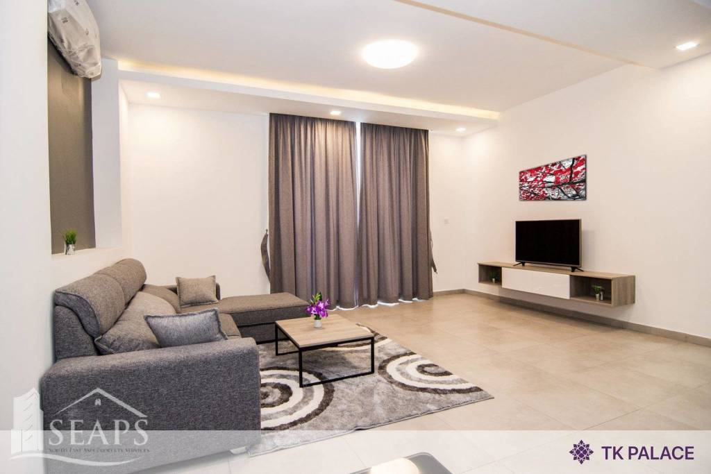 ONE BEDROOM SERVICE APARTMENT FOR RENT